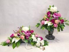 Ikebana, Fabric Flowers, Floral Wreath, Wreaths, Plants, Home Decor, Floral Crown, Decoration Home, Door Wreaths