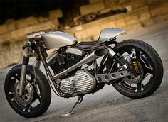 1995 Harley Davidson Sportster Cafe Racer By Bull Cyclesall Business