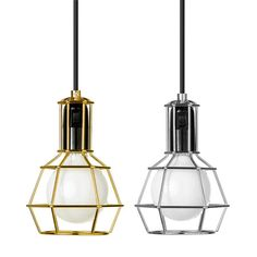 Work lamp in gold or silver from Design House Stockholm. Design: Us With Love.