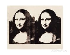 Double Mona Lisa, 1963 Prints by Andy Warhol at AllPosters.com