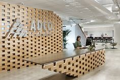 ADCO Constructions Offices by Woods Bagot Melbourne Australia