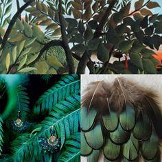 bijoux à plumes / Bijoux ethniques