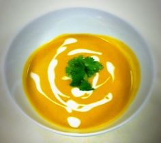 Creamless Thai Pumpkin Bisque with coconut milk and lemongrass to ...