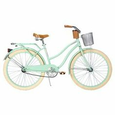 Huffy 26 Deluxe Ladies Cruiser. umm, can i have this? i will happily endure any hipster wanna-be comments just because this thing is so cute.
