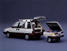 Nissan Prairie 4WD Winter Space Wagon (M10) '1985