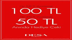 Desa Ekim 2013 Alışverişlerinize Hediye Çeki Kazanma Fırsatı