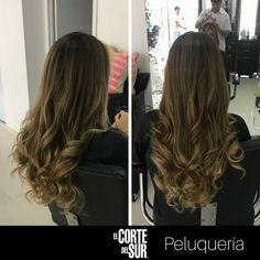 #Colorimetria  Un lindo #Balayage, ideal para darle versatilidad y estilo a tu cabello.  Este es un excelente trabajo de nuestro colorista experto Jair Aguirre Martinez.   Separa tu cita en nuestro PBX: 5522309. ¡#Tenemostiempoparati!  #BalayageBeige #Peluqueria #BalayageElCortedelSur #ElCorteDelSurPeluqueria
