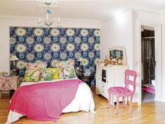 Dormitorio: Fiebre de estampados