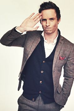 You HAVE to see this young man in Les Mis if you have not already done so!!   Eddie Redmayne