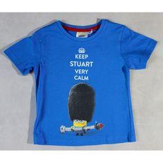 Minions póló kék