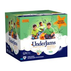 Cheapest Pampers UnderJams Boys Size 7 (S/M) Diapers Big Pack