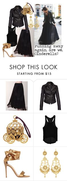 """""""Modern Day Cinderella"""" by alanna-765 ❤ liked on Polyvore featuring Barbour International, Go Green M by M, Gianvito Rossi, Jose & Maria Barrera, modern, relationships and FairyTales"""