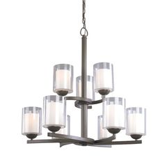 Found it at Wayfair - Cosmo 9 Light Candle-Style Chandelier