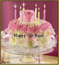 Best Happy Birthday GIF Images and Pictures - 9 Happy Birthday Happy Birthday Pictures Free, Happy Birthday In French, Happy Birthday Cake Hd, Happy Birthday Gif Images, Animated Happy Birthday Wishes, Happy Birthday Wishes Photos, Happy Birthday Brother, Happy Birthday Flower, Happy Belated Birthday