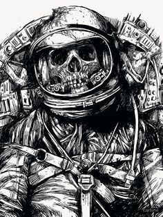 Dead Astronaut by carbine