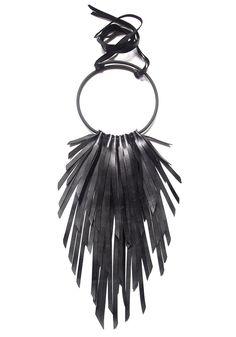 """Giulia Boccafogli The Crow necklace - """"Black"""""""