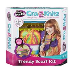 Cra-Z-Art Cra-z-Knitz Scarf Kit #DailyDeals