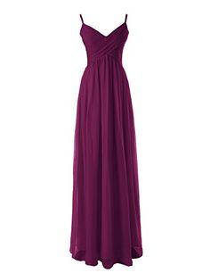 Diyouth Long Spaghetti Straps Bridesmaid Dresses Pleated Formal Evening Gowns Grape Size 2 Diyouth http://www.amazon.com/dp/B00LQMR1HG/ref=cm_sw_r_pi_dp_fTn9wb0563YQ9