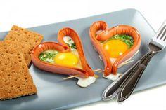"Яичница на завтрак ""Для любимого"""