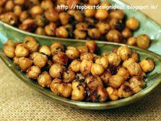 Oven RoastedChickpeasRecipe  http://topbestdesignideas.blogspot.in/2014/06/oven-roasted-chickpeas-recipe.html
