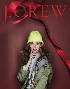 Crew's Holiday Catalog & Spring Look Book J Crew Style, My Style, J Crew Catalog, Christmas Editorial, Christmas Campaign, Catalog Cover, Christmas Catalogs, Holiday Looks, Holiday Style