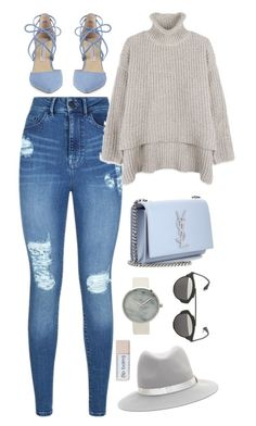 """Untitled #9318"" by katgorostiza ❤ liked on Polyvore featuring Lipsy, Kristin Cavallari, Yves Saint Laurent, Christian Dior and rag & bone"