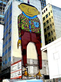 #osgemeos - More #streetart at www.Streetart.nl