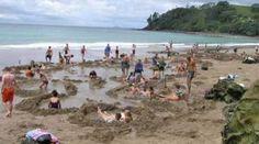 Visit Hot Water Beach