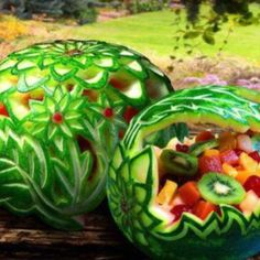 This is food art!