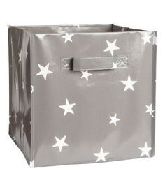 H&M Gray Star Storage Box (love this for playroom, nursery or girls new room) $5.95