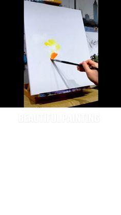 Disney Hercules, Art Worksheets, Moon Painting, Galaxy Art, Simple Art, Acrylic Art, Beautiful Paintings, Painting Techniques, Art Tutorials