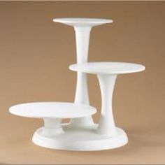 My new Wilton 3-tier cake stand :)