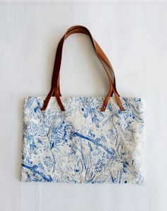 Potipoti Parrots Bag Blue