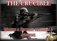 The crucible is so hard but I think every single one those recruits can do it they have been pushed so hard so long not to give up now. They might want to but I know good and well there not.Some people may pass out who knows all I know is that God has every single one of there backs including my brother lane. Lanes a leader and a follower of good choices and if your son is having trouble then he is right by there side and if lanes having trouble witch will happen to everyone then they all…