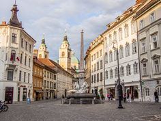 """The Robba fountain in Mestni Trg III Ljubljana is pronounced """"lyoob-lyAH-nah"""". 7 Continents, Alpine Lake, Central Europe, Photo Essay, Architecture Details, Old Town, Image Search, Street View, World"""