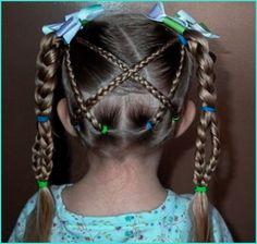 imagenes de peinados de niña