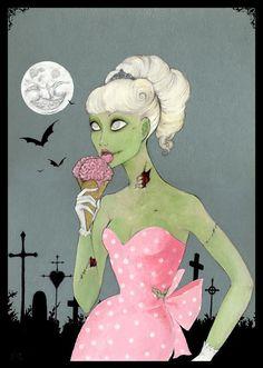 Vintage zombie