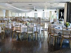 Marina City Club in Marina del Rey \\ Room rental fees range $1,500-3,500 depending on space(s) rented. Dinners run $38-61/person; room rental, tax, alcohol and a 21% service charge are additional. Banquet packages and customized menus are available. A cake-cutting fee of $3/person is additional.