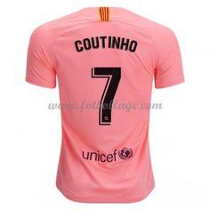 3c2fd9af4b5 Fotbollströjor Barcelona 2018-19 Philippe Coutinho 7 Tredjetröja