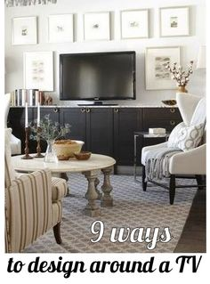 9 Ways To Design Around A Tv