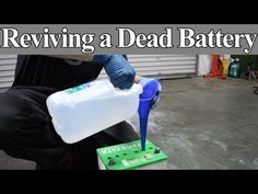 Is it Possible to Revive a Dead Battery with Epsom Salt - See For Yourself - YouTube