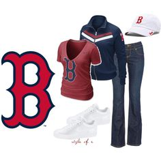 Opening Day: Boston Red Sox ... not the shoes, flip flops please :) love me some Red Sox!