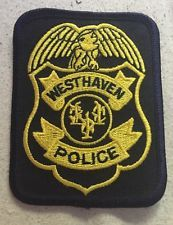 WEST HAVEN, CONNECTICUT POLICE DEPARTMENT PATCH