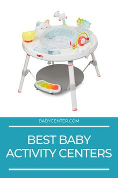Best baby activity centers Top Toys, Baby Center, Activity Centers, Infant Activities, Bassinet, Little Ones, Crib, Toddler Chores, Baby Activities