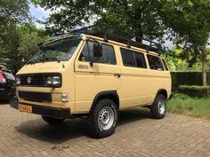 Volkswagen, VW T3 Syncro 16 Caravelle 1991 Sahara Sand