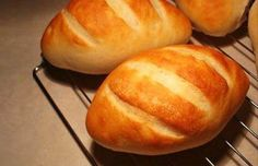 Delicious Portuguese bread rolls. Enjoy them warm with butter, a coffee or tea.