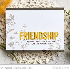 Friendship Words, Friend Friendship, Card Kit, I Card, Point Words, Message Of Encouragement, Flower Silhouette, Banner Images