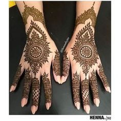 Henna by Jas. Simple bridal henna for a sweet bride Maryam . Offering FREE consultations for all brides getting married in Contact via e-mail text or phone for ALL 2018 Available Henna Dates! For all enquiries Call/Text Henna Hand Designs, Eid Mehndi Designs, New Bridal Mehndi Designs, Mehndi Designs Finger, Mehndi Designs For Girls, Mehndi Designs For Fingers, Mehndi Design Images, Latest Mehndi Designs, Beautiful Henna Designs