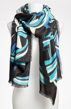 Emilio Pucci 'Winter Capri' Scarf available at #Nordstrom