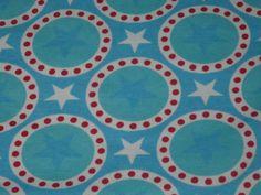 50cm Stretch Jersey Stars in blue Sweden Design by PollyFabrics, €12.50